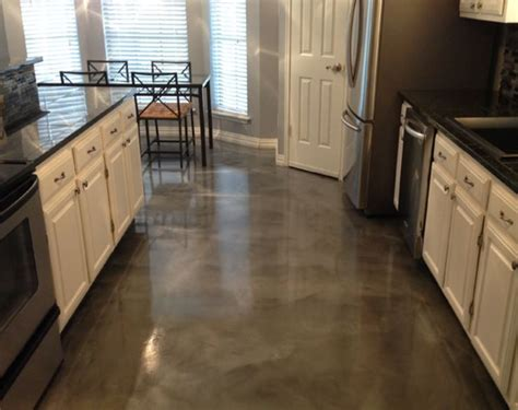 residential kitchen epoxy flooring new york city polished concrete epoxy contractor ny 10004