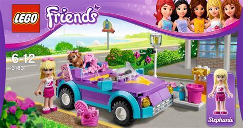 Barbie Wohnmobil Aufkleber by Lego Friends 3183 Stephanies Cabrio Miwarz De Berlin Teltow