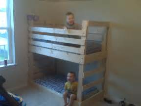Toddler Beds Bunk 25 Diy Bunk Beds With Plans Guide Patterns