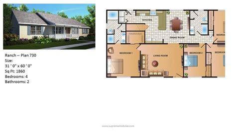 homes floor plans supreme modular homes nj modular home ranch plans