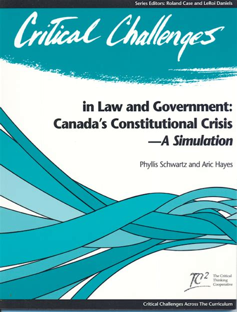 Canadas Kyoto Constitutional Crisis by Critical Challenges In And Government The Tc2 Store