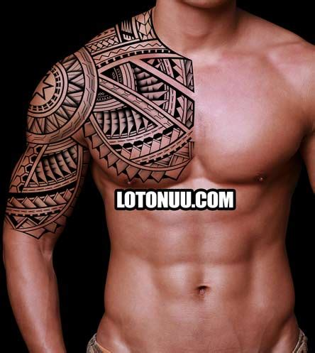 upper body tribal tattoos designs