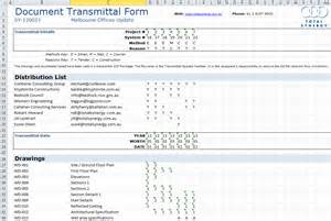 transmittal ms excel 174 template