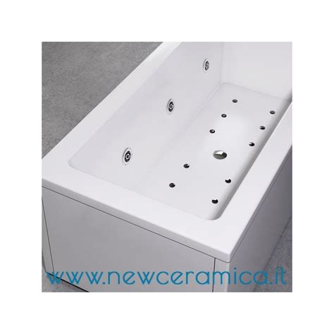 vasche acrilico vasca idromassaggio la quadra 180x80 in acrilico relax design