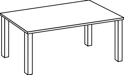 Vector Table by Table Line Free Vector 4vector