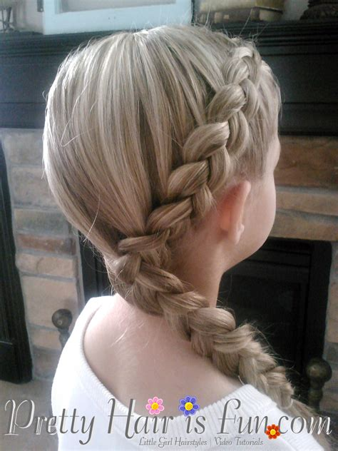 little girl hairstyles braided to the side little girl s hairstyles side dutch braid pretty hair