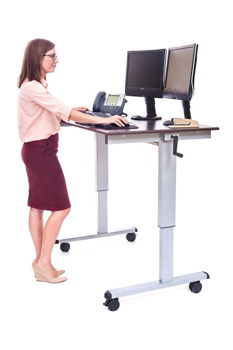best adjustable standing desk 6 best adjustable standing desks reviewed for 2017