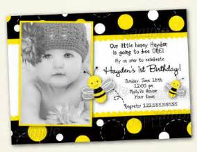 bumble bee birthday invitations by lollipopprints on etsy