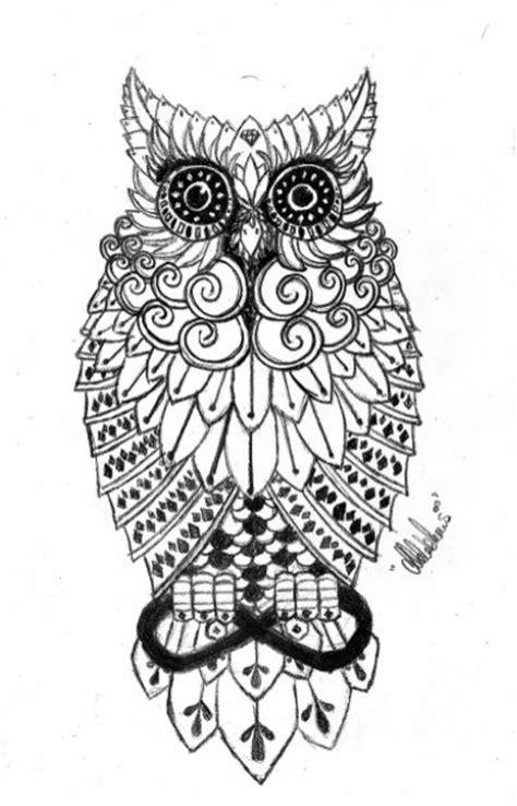 owl tattoo black and white black and white owl tattoo tattoos pinterest