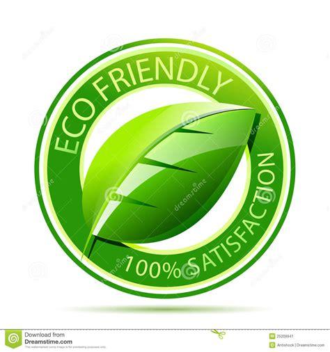 Eco Friendly Label Stock Image   Image: 25209941