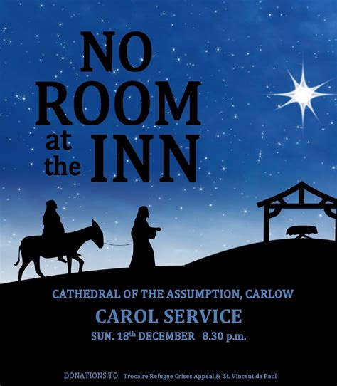 no room in the inn no room at the inn unique celebration in carlow cathedral catholic news
