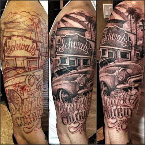 car related tattoo designs con safos