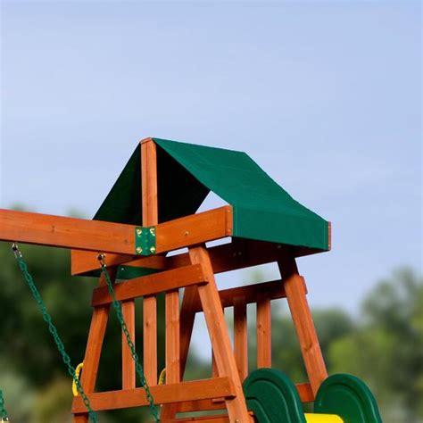 Backyard Discovery Prescott Cedar Wooden Swing Set Prescott Wooden Swing Set