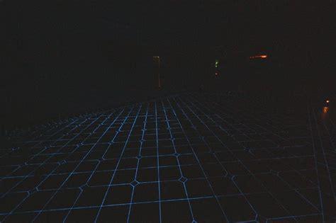 garage porcelain floor glow in the dark grout eclectic