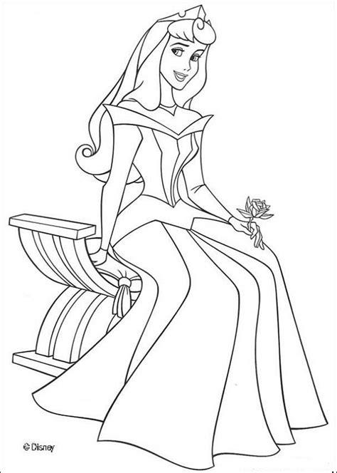 Coloriage Princesse Aurore L