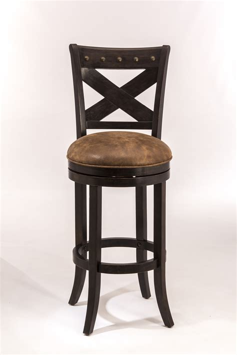 counter height bar stools wood hillsdale wood stools 5758 826 swivel counter height stool