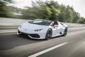 Lamborghini Huracan Front 2016 Lamborghini Huracan Spyder Review Automobile Magazine