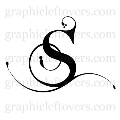 letter s designs tattoos clipart panda free clipart images