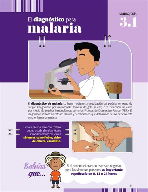 L Malaria by La Malaria En La Escuela Propuesta De Integraci 243 N Curricular