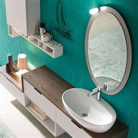 cornice in vetro specchio per bagno con cornice in vetro colorato honolulu