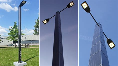 solar powered lights australia self contained solar powered streetlights stay completely