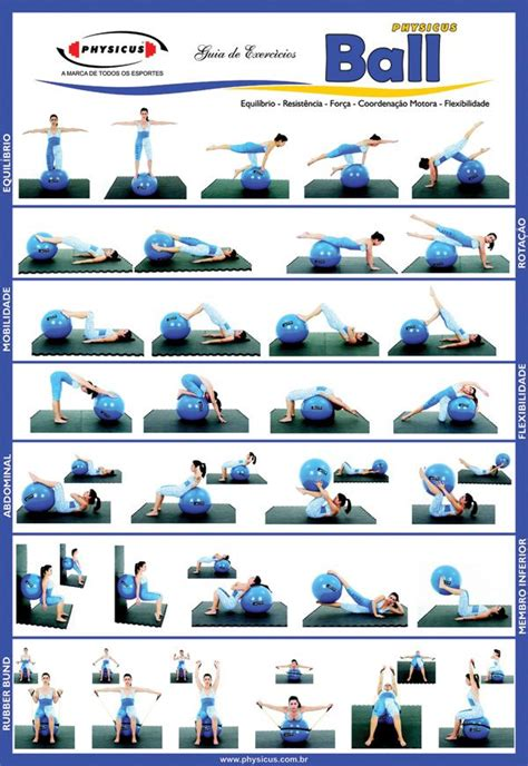 printable exercise ball routines mais de 1000 ideias sobre swiss ball exercises no