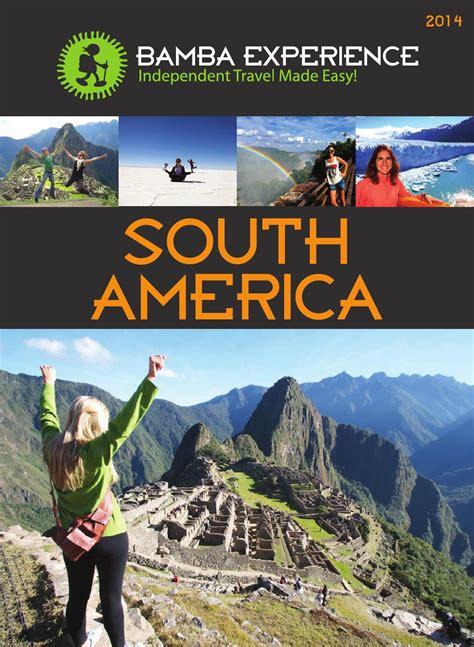 American Mba Brochure by Bamba Experience Brochure South America 2014 By Bamba