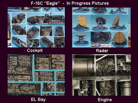 Gallery - F-15C Eagle in progress& F 15 Cockpit