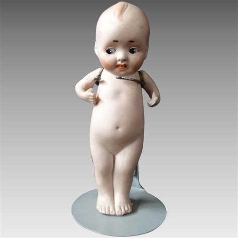 bisque porcelain doll kewpie type bisque porcelain doll early 20th century baby