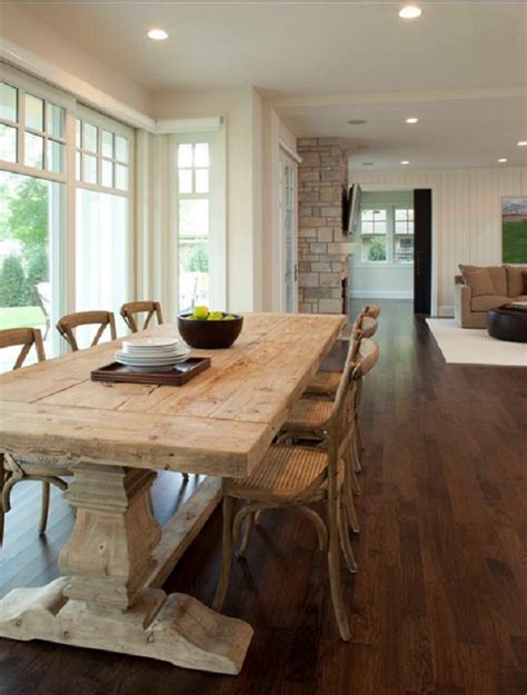 Painted Esszimmertisch by Remodelaholic How To Mix Wood Tones Like A Pro