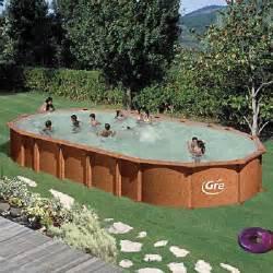piscine hors sol rectangulaire acier piscine hors sol acier m 233 tal ou bois images arts et