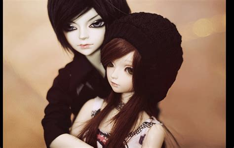 Wallpaper Cute Doll Couple | cute couple of a doll hd wallpaper top wallpapers hd