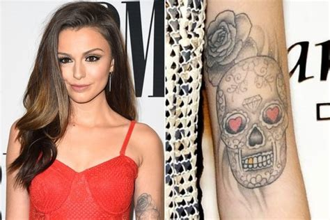 lloyd tattoos cher lloyd tattoos skull www pixshark images