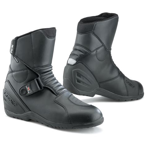 tcx boots motocross tcx x miles short ankle waterproof motorbike winter