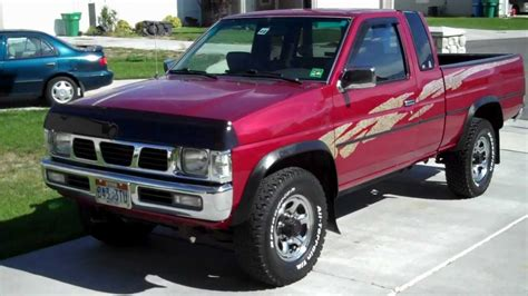 nissan pickup 4x4 my 1995 nissan hardbody v6 4x4 king cab youtube