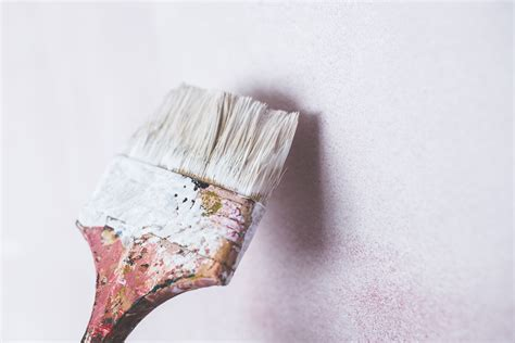 brush painting brush painting the white wall 183 free stock photo