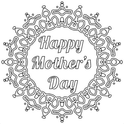 free printable card templates to colour 11 mothers day card templates psd eps free premium