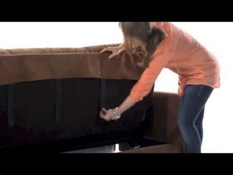 couch locked handy living convert a couch 174 handy lock assembly youtube