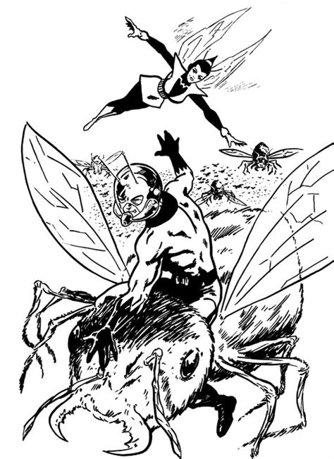 ant man mask coloring page coloring pages