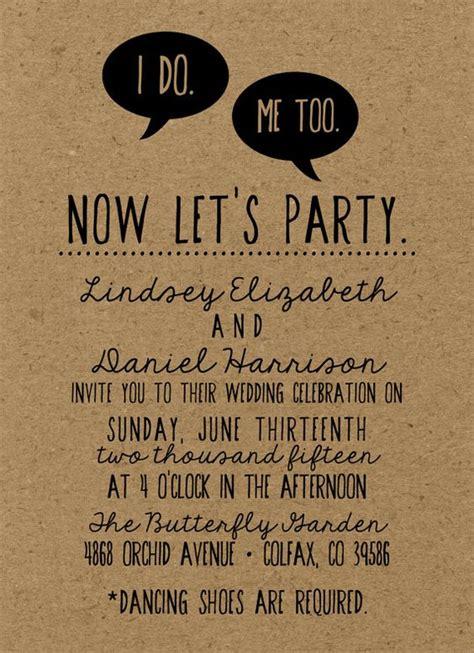 Witzige Hochzeitseinladungen by Wedding Invitations
