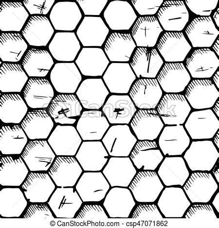 honeycomb pattern corel draw vector simple honeycomb pattern vintage seamless hexagons