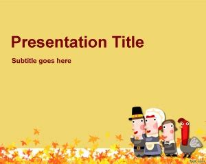 happy thanksgiving powerpoint template is a free ppt