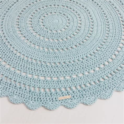 rond kleed haken cutiepie designs patroon vloerkleed