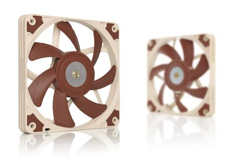 noctua 120mm slim fan noctua releases the slim 120mm nf a12x15 fan small form