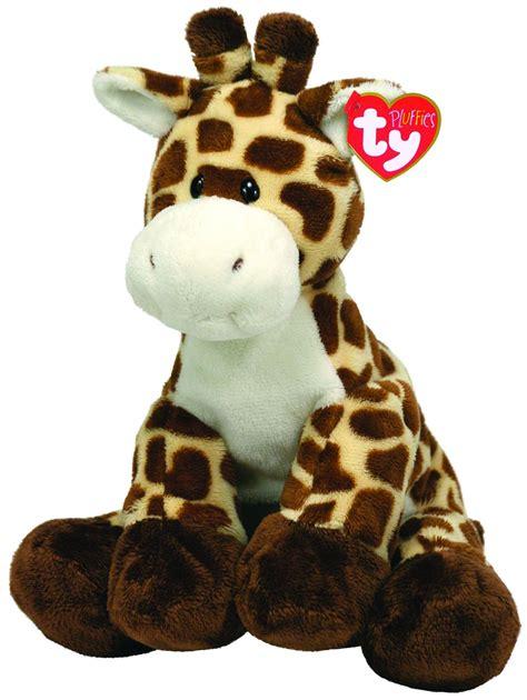 tiptop giraffe ty pluffies jungle safari stuffed animal by