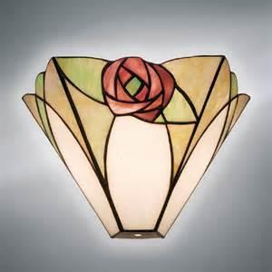 Art Deco Table Lamp Art Nouveau Mackintosh Style Wall Washer Wall Light