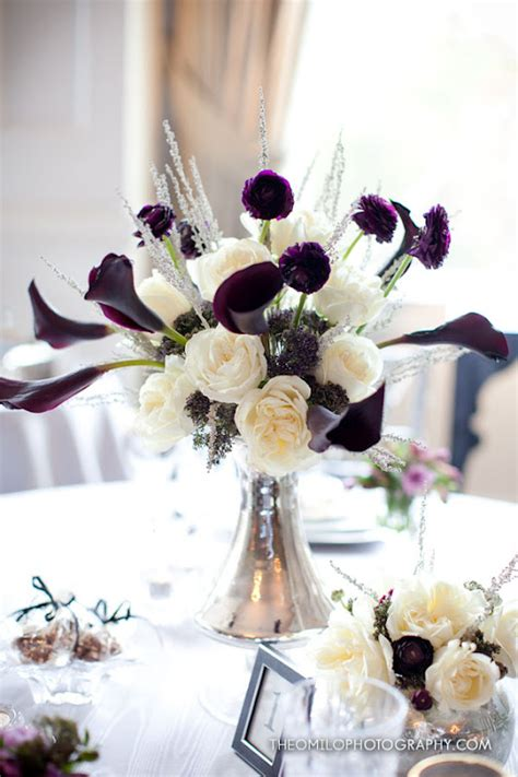 Purple Calla Lily Wedding Favors For Our Table Calla Lilies Centerpieces For Weddings