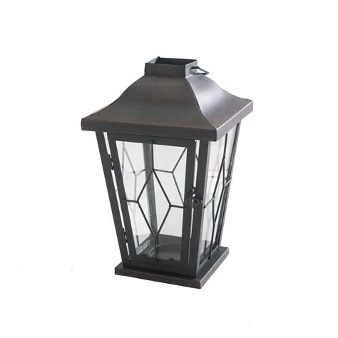 home depot carriage lights sunjoy carriage candle lantern 110601005 the home depot
