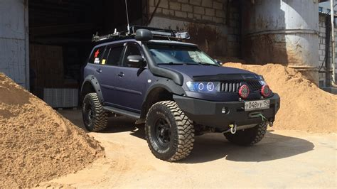 mitsubishi adventure modified mitsubishi pajero sport modified l200