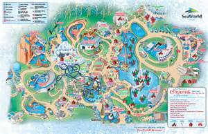 image gallery seaworld map 2014